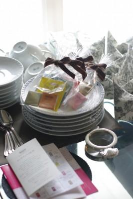 ロイヤルコペンハーゲンの食器テーブルコーディネート
