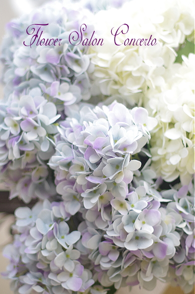 アーティフィシャルフラワー紫陽花